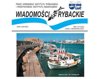 Najnowsze wydanie Wiadomości Rybackich – lipiec-sierpień 2021