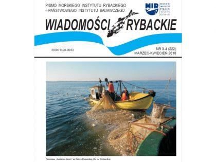 Najnowsze wydanie Wiadomości Rybackich nr 3-4 (222) marzec-kwiecień 2018