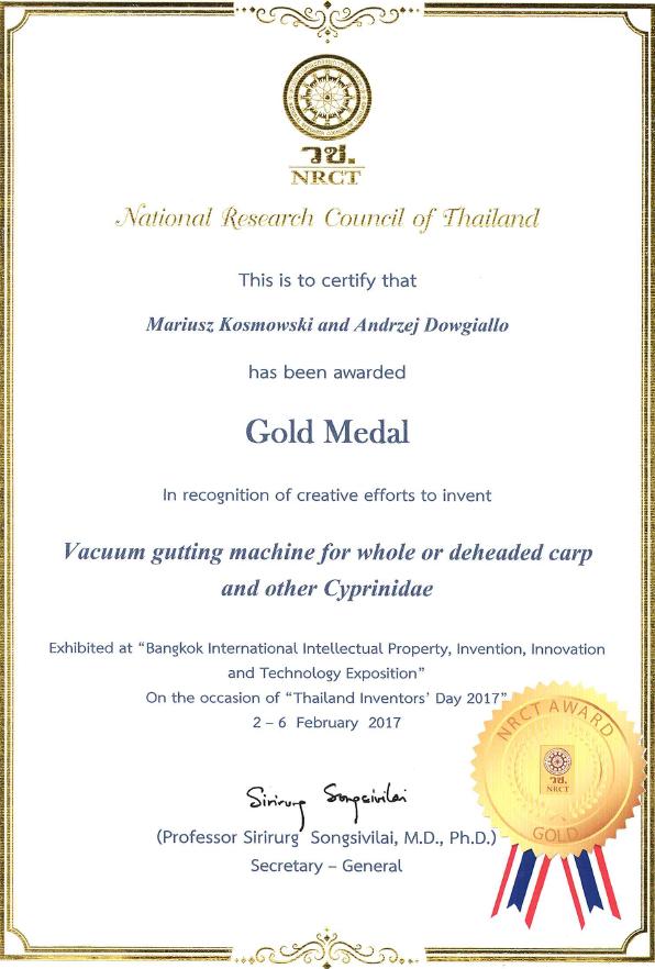 Dyplom Tajlandia