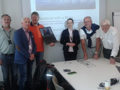Work on the European Standard for labelling of distribution units and pallets in the trade of fish and seafood  products