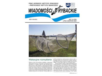 Najnowsze wydanie Wiadomości Rybackich nr 7-8 (236) lipiec – sierpień 2020