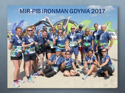 Our dream team during 2017 IRONMAN Gdynia, Poland. All did great, and especially our supporters!
