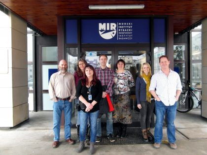 Meeting of the ICES Working Group on Pathology and Diseases of Marine Organisms (WGPDMO) at the NMFRI
