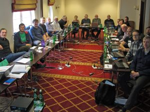Meeting of the ICES Assessment Working Group on Baltic Salmon and Trout organized by the NMFRI