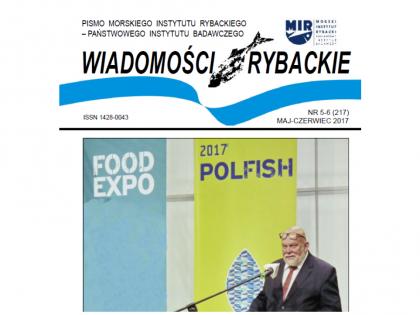 """Zapraszamy do lektury """"Wiadomości Rybackich"""" 5-6 2017"""