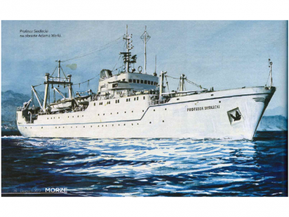 45 years since the commissioning of R/V Profesor Siedlecki