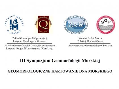 Zaproszenie na III Sympozjum Geomorfologii Morskiej