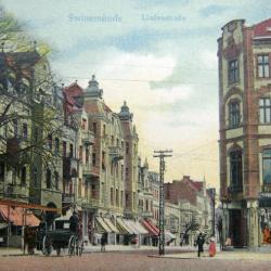 Wygląd budynku na pocztówce z 1910 r.