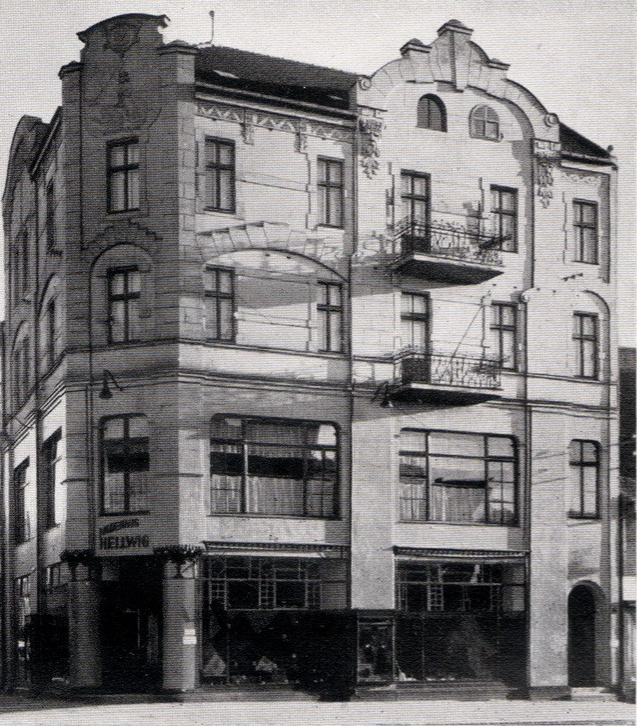 Zdjęcie budynku z 1929 r.