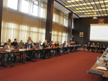 Baltic Sea Advisory Council (BSAC) Executive Committee meeting at the NMFRI