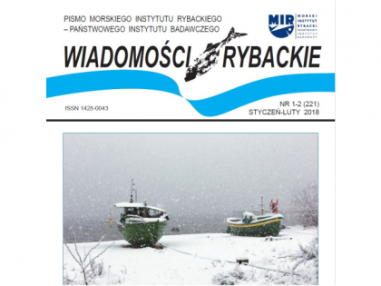 Najnowsze wydanie Wiadomości Rybackich nr 1-2 (221) styczeń-luty 2018