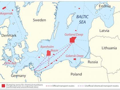 Zatopiona w Bałtyku amunicja chemiczna i ryby