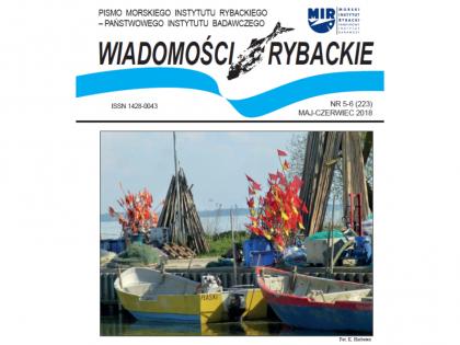 Najnowsze wydanie Wiadomości Rybackich nr 5-6 (223) 2018