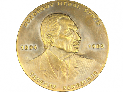 The Tadeusz Sendzimir Medal of the Association of Polish Inventors and Rationalizers for Dr.Eng. Mariusz Kosmowski