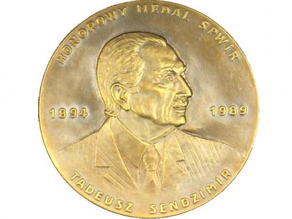 Medal SPWiR im. Tadeusza Sendzimira dla dr. inż. Mariusza Kosmowskiego