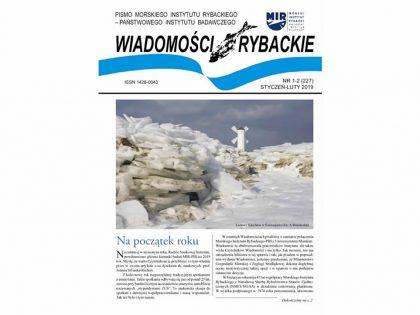 Najnowsze wydanie Wiadomości Rybackich nr 1-2 (227) 2019