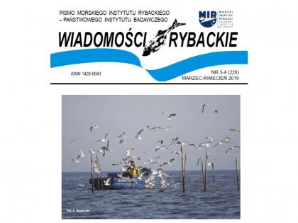 Najnowsze wydanie Wiadomości Rybackich nr 3-4 (228) 2019