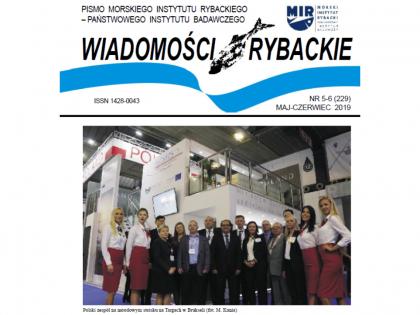 Najnowsze wydanie Wiadomości Rybackich nr 5-6 (229) 2019