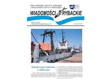 Najnowsze wydanie Wiadomości Rybackich nr 9-10 (231) 2019