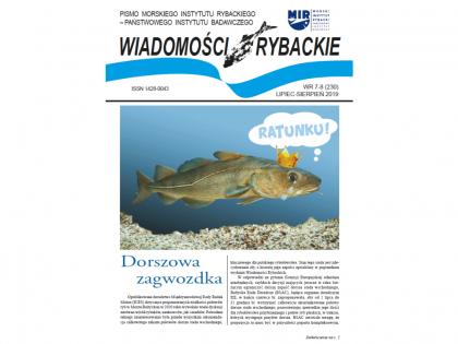 Najnowsze wydanie Wiadomości Rybackich nr 7-8 (230) 2019