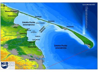 Nowa strona internetowa poświęcona badaniom na Zatoce Puckiej