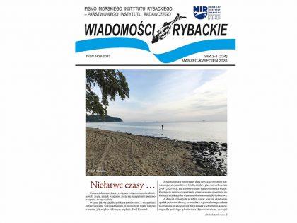 Najnowsze wydanie Wiadomości Rybackich nr 3-4 (234) 2020