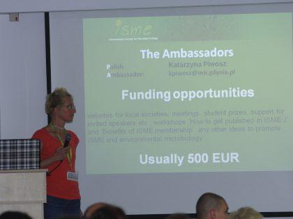Dr Katarzyna Piwosz z MIR-PIB najlepszą ambasadorką Międzynarodowego Towarzystwa Ekologii Mikroorganizmów (International Society of Microbial Ecology)