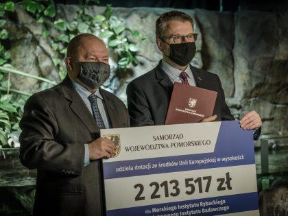 Dodatkowe wsparcie dla rozbudowy Akwarium Gdyńskiego MIR-PIB