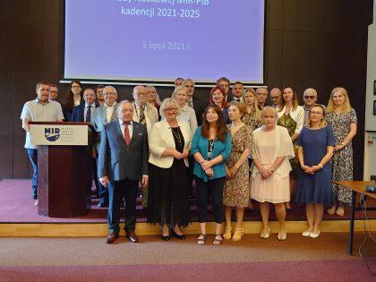 Nowa kadencja Rady Naukowej MIR-PIB